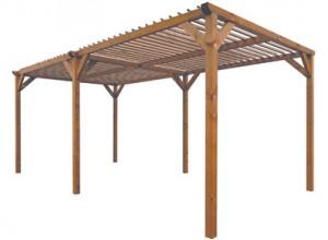 abri de terrasse bois