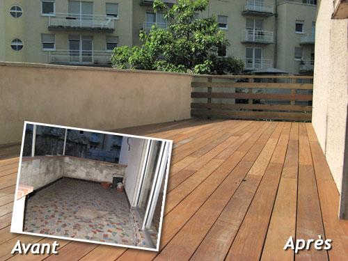 Balcon Terrasse Bois - Meilleur Bois Pour Terrasse Perfect La Terrasse En Bois With Meilleur Bois Pour Terrasse