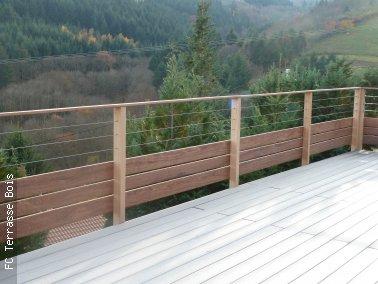 barriere bois terrasse