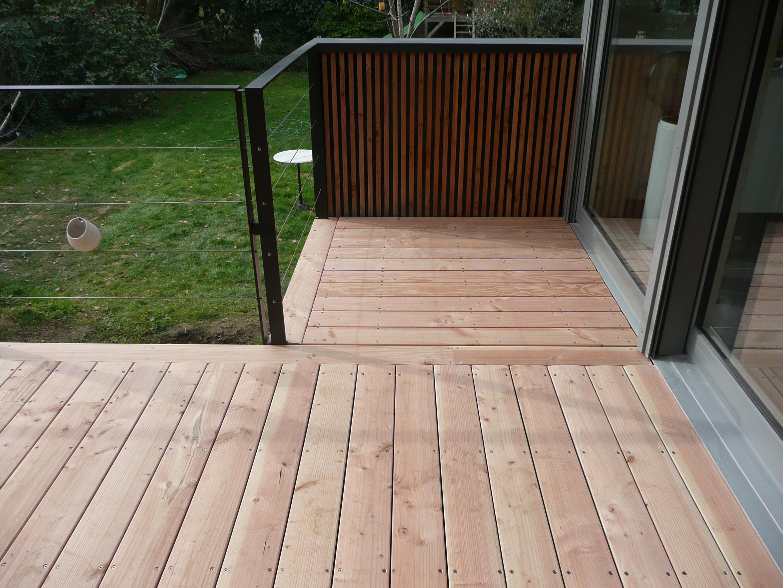 bois douglas terrasse - Comment Monter Une Terrasse En Composite