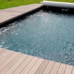 Bois piscine terrasse