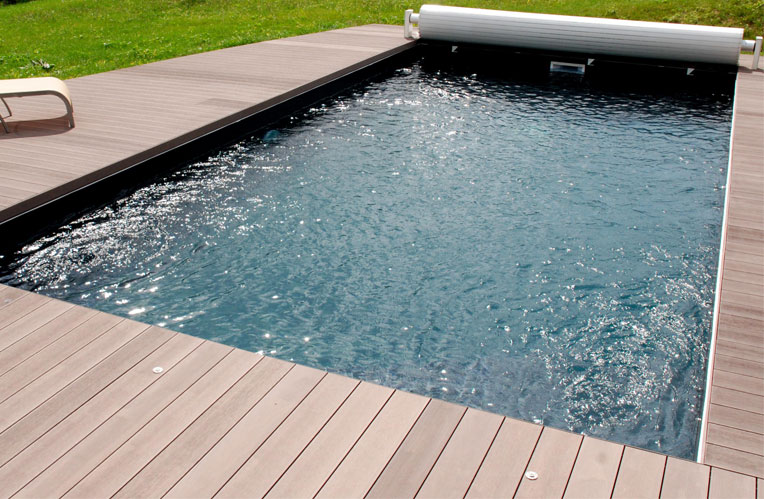 Carrelage imitation bois terrasse cool carrelage terrasse for Piscine imitation bois