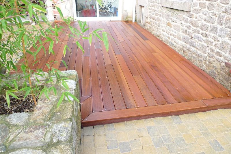 bordure terrasse bois