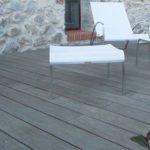 Carrelage imitation bois pour terrasse
