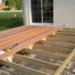 Construction d une terrasse bois