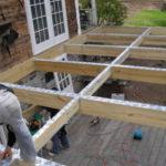 Construire terrasse bois pilotis