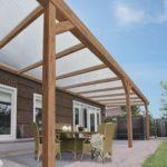 Couverture terrasse bois
