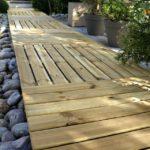 Dalle terrasse bois 100×100