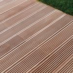 Dalle terrasse imitation bois