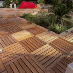 Dalles de terrasse bois