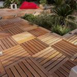 Dalles de terrasse en bois
