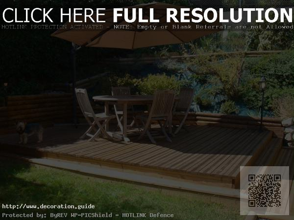 décoration terrasse bois