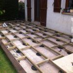 Fabrication d une terrasse en bois