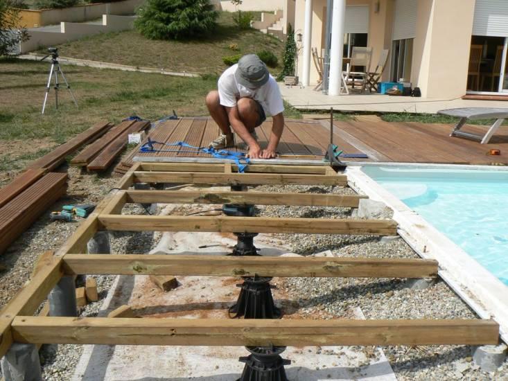 Préférence Modele de terrasse en bois exterieur ZQ51