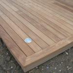 Finition terrasse bois