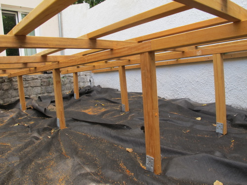 hauteur terrasse bois