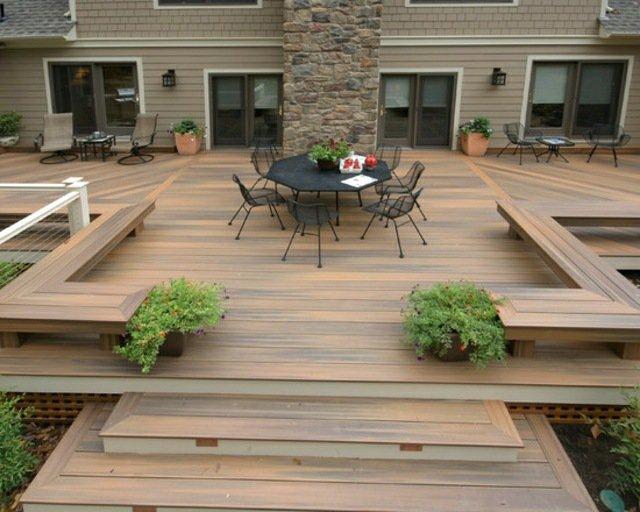 idee de terrasse en bois