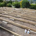 Lambourde pour terrasse bois