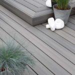 Lame de bois composite pour terrasse