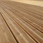 Lame en bois pour terrasse