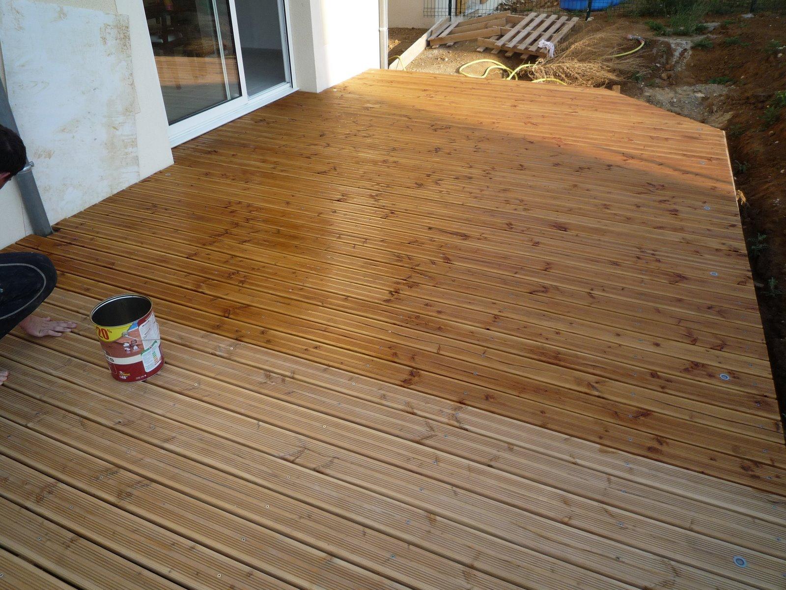 Lasure terrasse bois exterieur