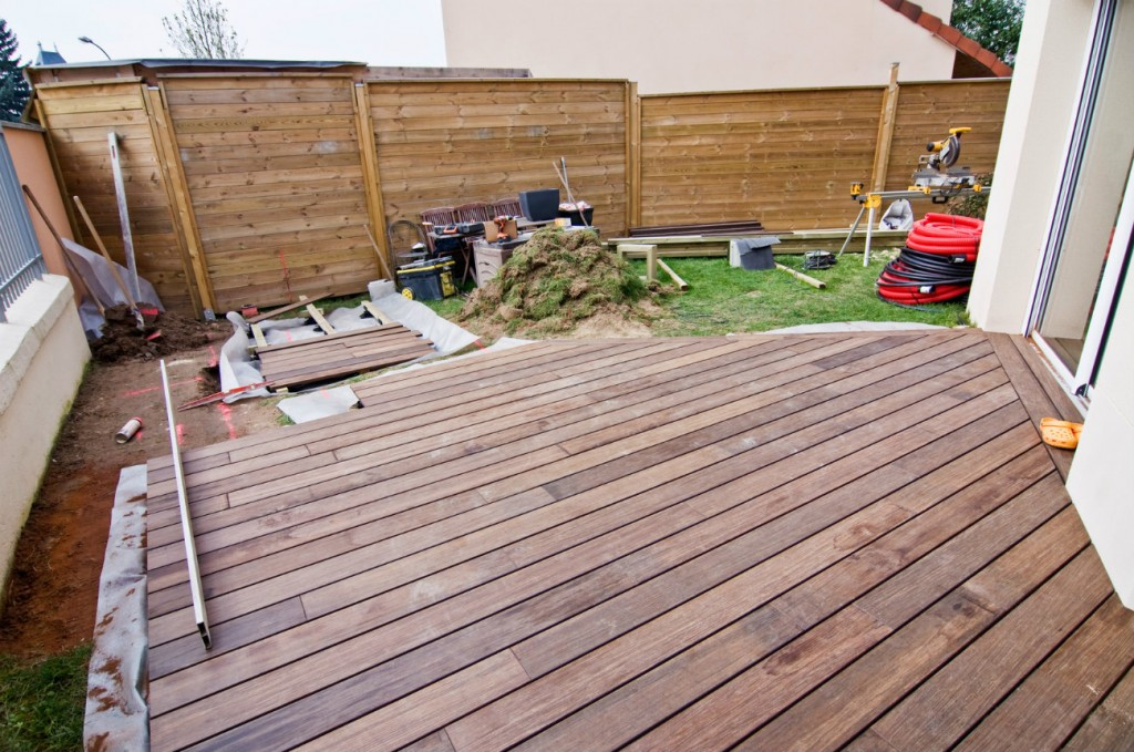 montage d une terrasse en bois