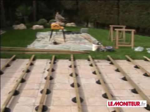 monter terrasse bois