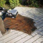 Nettoyage terrasse en bois