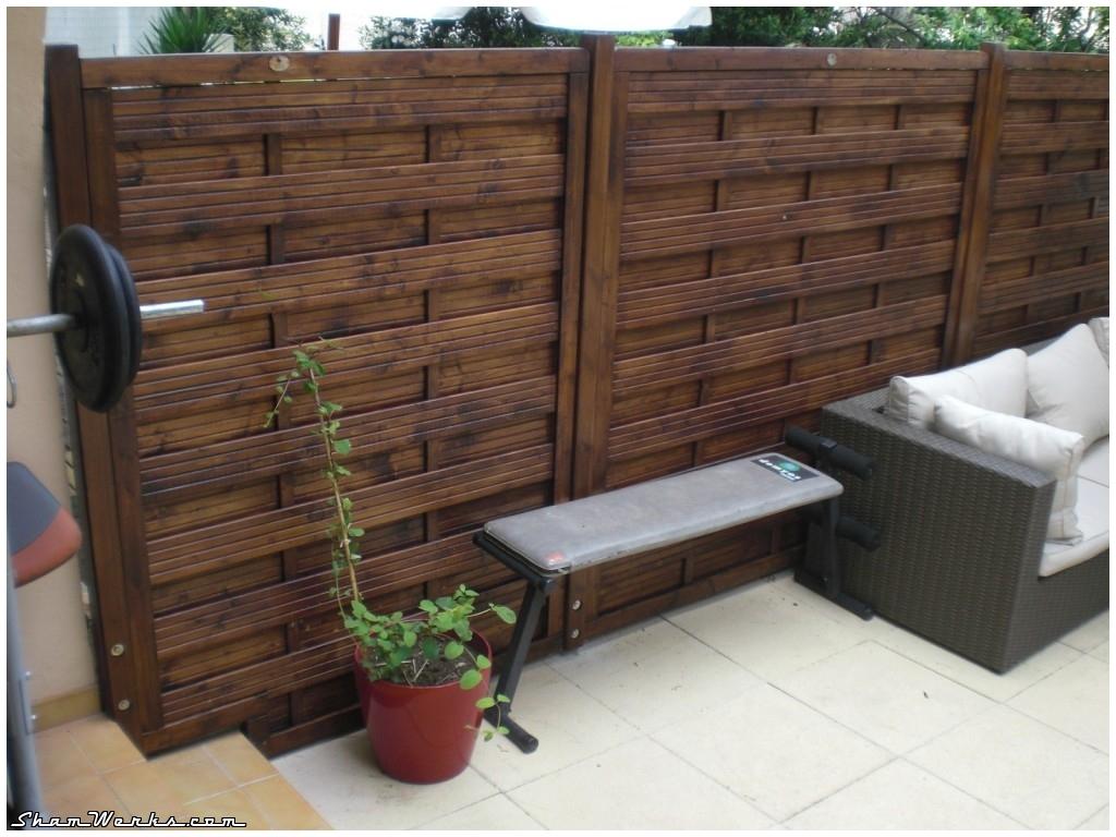 panneau bois terrasse