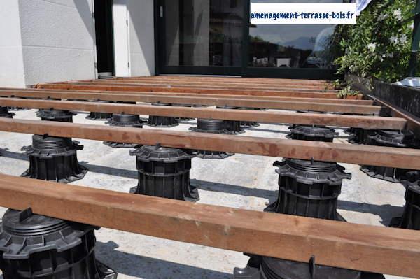 plots pour terrasse en bois