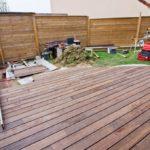 Pose d une terrasse en bois
