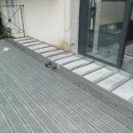 Pose terrasse bois composite sur dalle beton