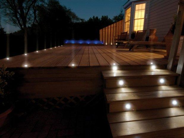 spot terrasse bois