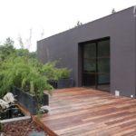 Terrasse bois bambou
