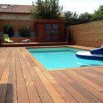 Terrasse bois bordeaux