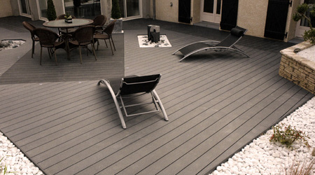terrasse bois composite prix