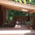 Terrasse bois couverte