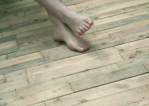 terrasse bois de palette