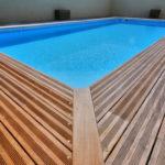 Terrasse bois glissante