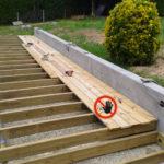Terrasse bois lambourdes
