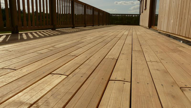 Terrasse bois robinier