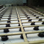 Terrasse bois sur plots