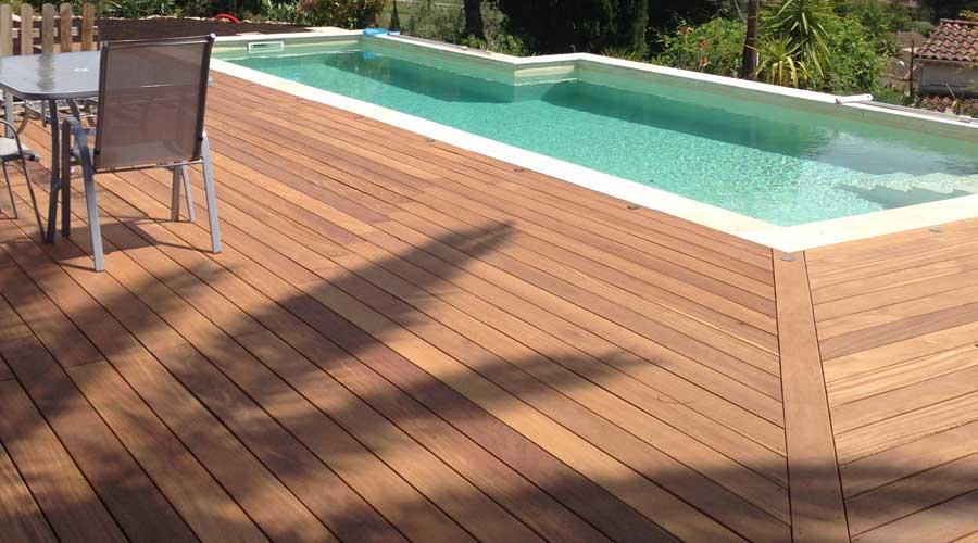 Castorama terrasse bois castorama jardin piscine for Carrelage exterieur imitation bois castorama