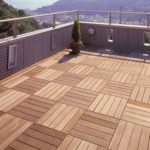 Terrasse caillebotis bois