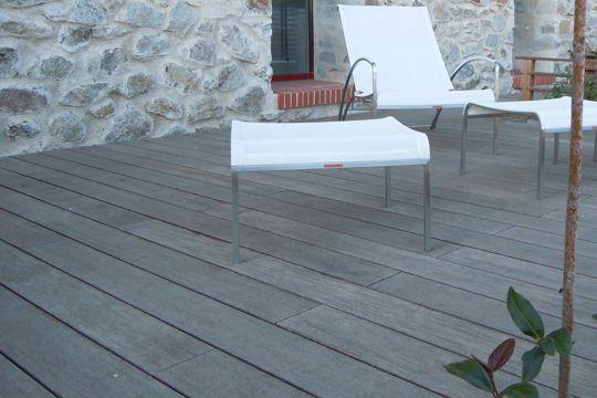 terrasse carrelage imitation bois - Terrasse Bois Sur Carrelage