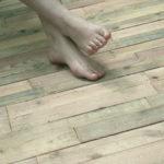 Terrasse en bois de palette