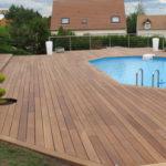 Terrasse en bois piscine