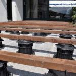 Terrasse en bois sur plot