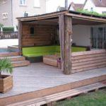 Terrasse en palette de bois