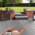 Terrasse extérieure bois composite